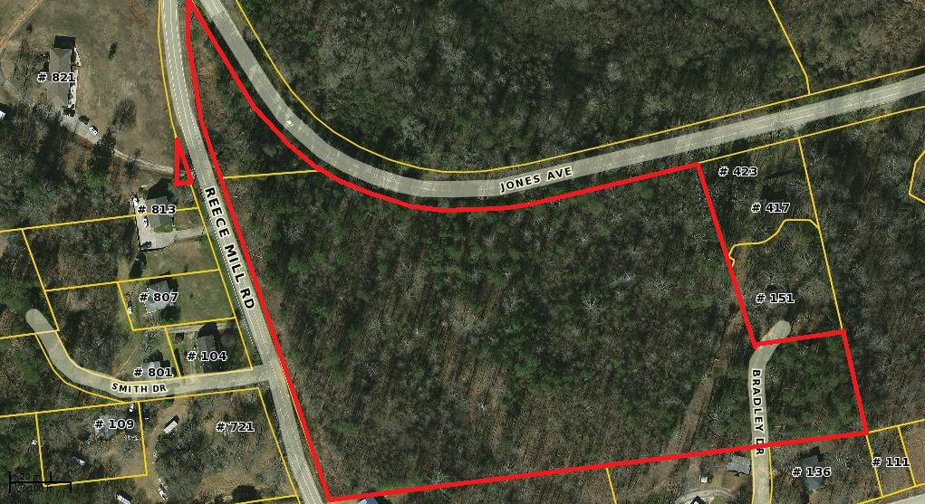 461 West Jones Ave, Pickens SC 29671    11.91 Acres